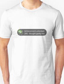 Achievement Unlocked - 20G Bought geeky tee T-Shirt
