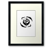 Fallout Brotherhood of Steel Framed Print