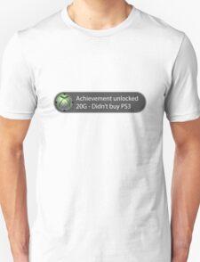 Achievement Unlocked - 20G Didn't buy PS3 T-Shirt