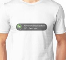 Achievement Unlocked - 20G Exercised Unisex T-Shirt
