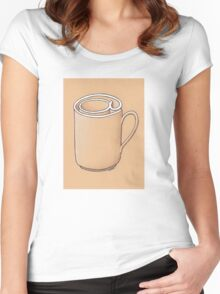 Electronic Mug Women's Fitted Scoop T-Shirt