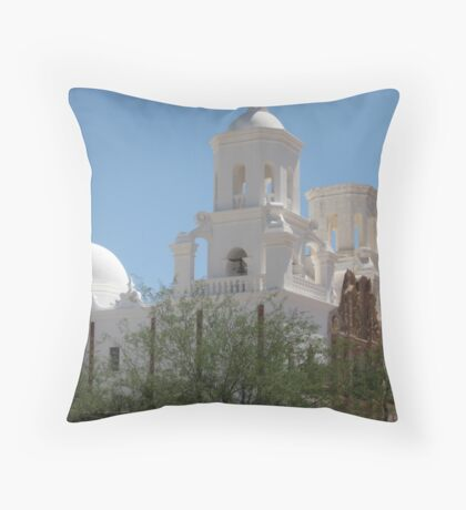 San Xavier from the West Throw Pillow