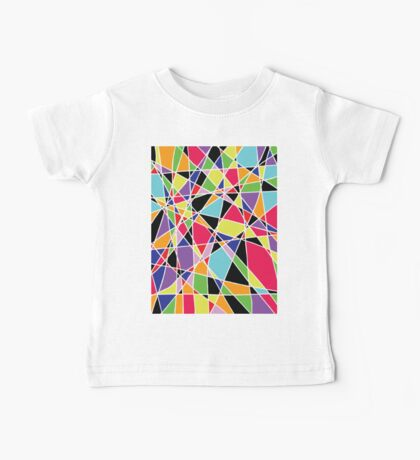 Colorful Abstract Baby Tee