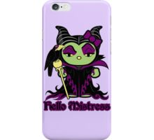 Hello Mistress iPhone Case/Skin