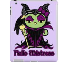 Hello Mistress iPad Case/Skin