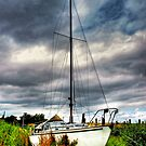 Sailing Boat by Mick Smith