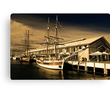 Lady Nelson and Co. Canvas Print