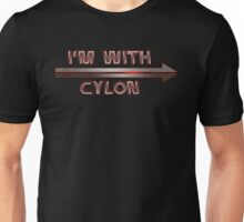 I'm With Cylon (2nd variant) Unisex T-Shirt