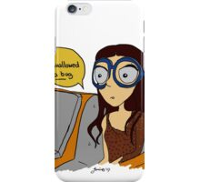 I Swallowed A Bug iPhone Case/Skin