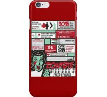 Zombie - Facts and Figures iPhone Case/Skin