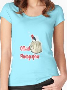 Professional Photographer Women's Fitted Scoop T-Shirt