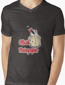 Professional Photographer Mens V-Neck T-Shirt