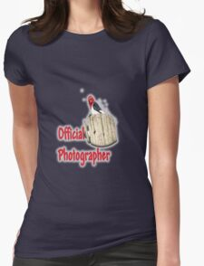 Professional Photographer Womens Fitted T-Shirt