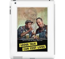 Don't Be A Dope And Spread Inside Dope iPad Case/Skin