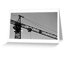 Crane II Greeting Card