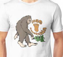 Gone Squatchin Bigfoot Unisex T-Shirt