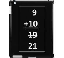 9 + 10 iPad Case/Skin