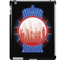 London and the Tardis - Sticker iPad Case/Skin