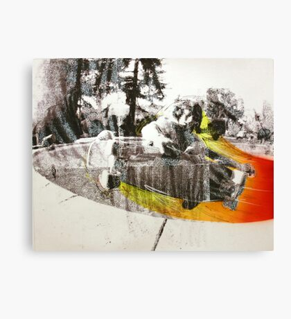 #42 Canvas Print