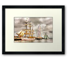 Tall Ships Boston 2009 Framed Print