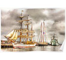 Tall Ships Boston 2009 Poster