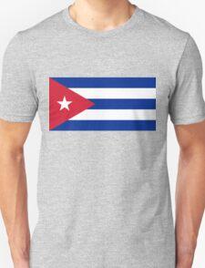 National flag of Cuba - Authentic HD version Unisex T-Shirt