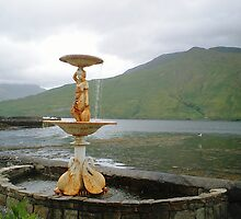 Leenane Hotel--Water Fountain--Looking at Killary Fjord[View Larger] by Pat Duggan