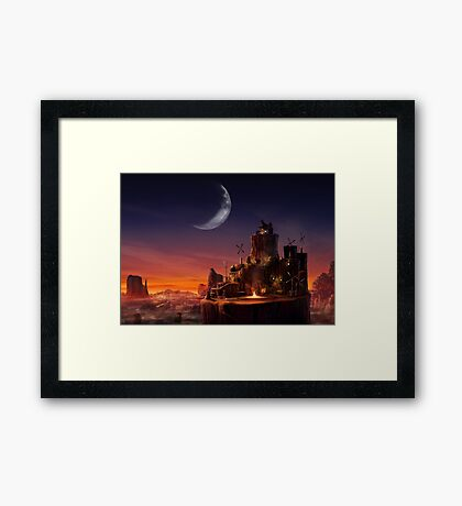 Cosmo Canyon Framed Print
