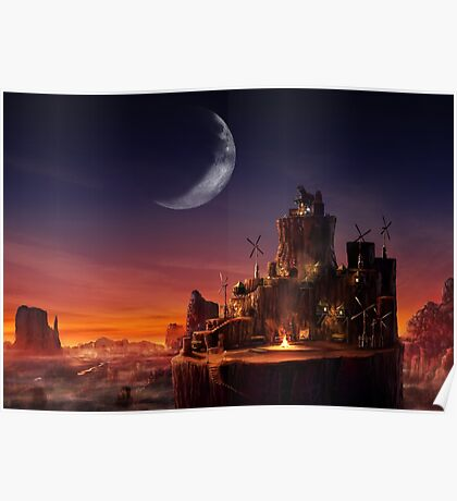 Cosmo Canyon Poster