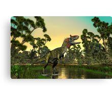 Cryolophosaurus Canvas Print
