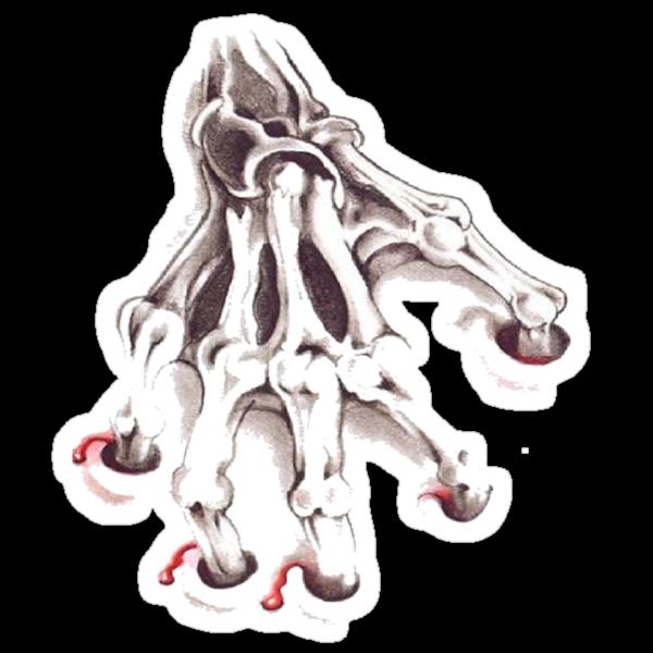 skeleton finger by Wizard-Designs