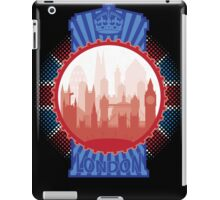 London and the Tardis iPad Case/Skin