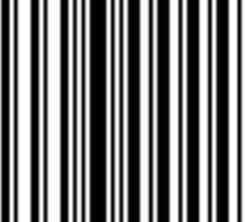 90s Baby Barcode Sticker