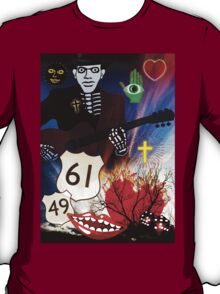 BLUESMAN AT THE CROSSROADS T-Shirt