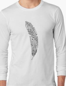 The Quill is mightier then the sword Long Sleeve T-Shirt