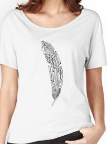 The Quill is mightier then the sword Women's Relaxed Fit T-Shirt