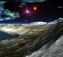 Evening on Planet H by blacknight