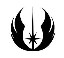 Jedi Symbol Photographic Print