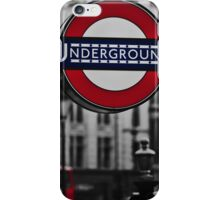 Charing Cross Tube Station iPhone Case/Skin