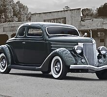 1936 Ford Deluxe Coupe by DaveKoontz
