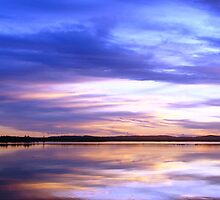 Purple Sky Sunset by Martice