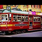 Melbourne Tram by lisacred