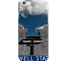 Chigwell Tube Station iPhone Case/Skin