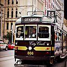 Melbourne Tram 2 by lisacred