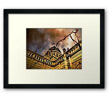 The Aged Royal Exhibition Building ( Melbourne )  Framed Print