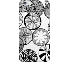 Vortex of Change Zentangle iPhone Case/Skin