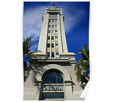 Aloha Tower Poster