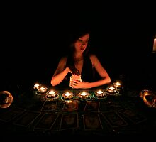 The Tarot Reader by Geoff Coleman - Conceptuals