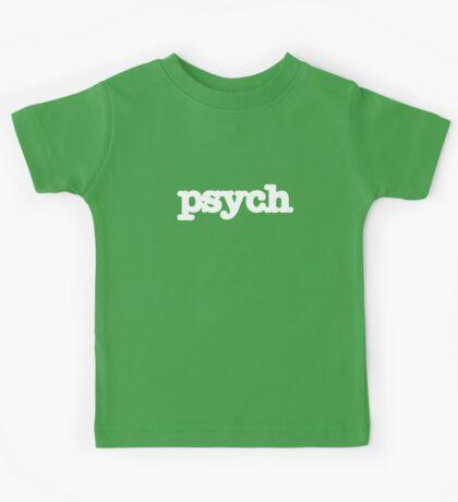Psych Logo Kids Tee