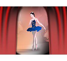 Nutcracker Ballerina Photographic Print